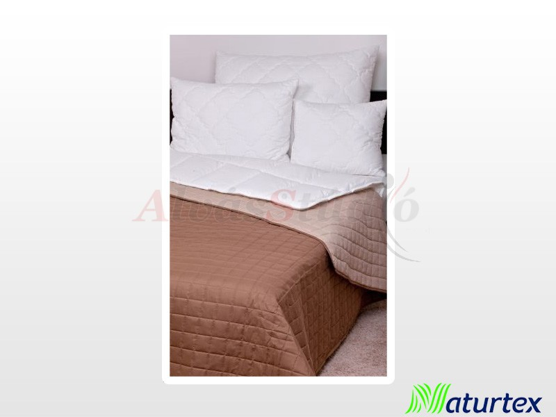 Naturtex Laura microfiber ágytakaró Barna-drapp 140x240 cm