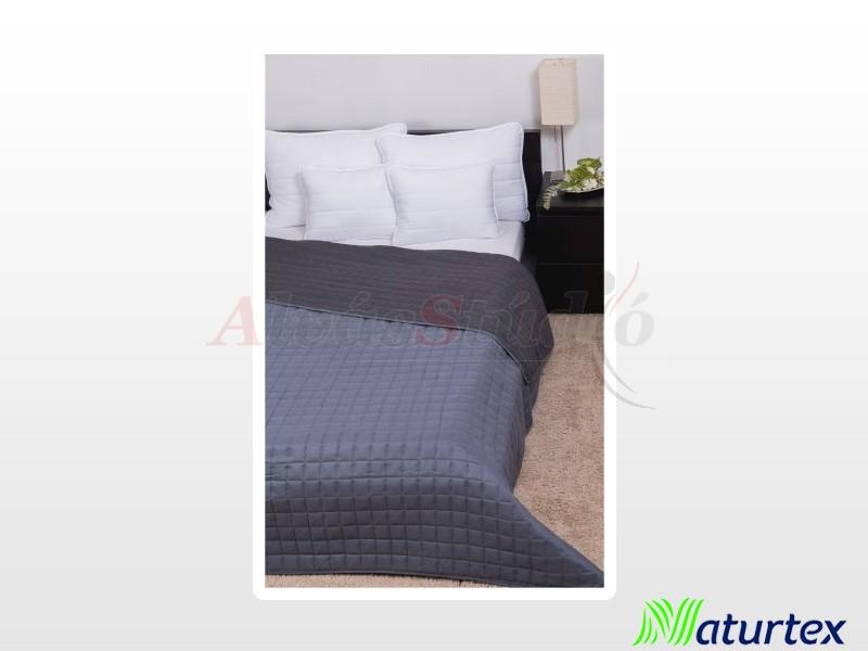 Naturtex Laura microfiber ágytakaró világosszürke-sötétszürke 235x250 cm
