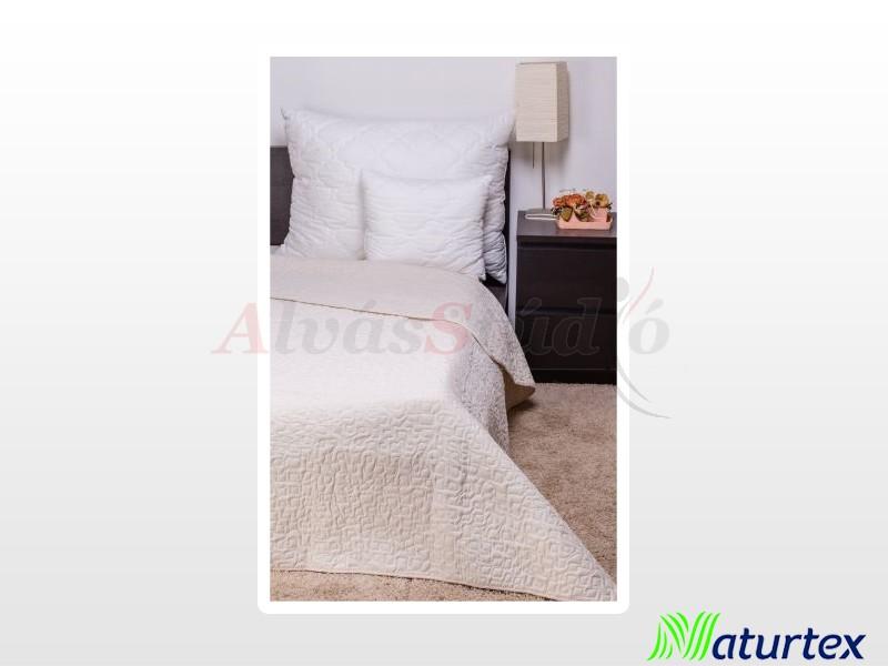 Naturtex Clara bézs márvány steppelésű ágytakaró 235x250 cm