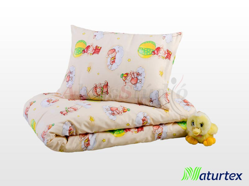 Naturtex 2 részes Baloon gyermek ágyneműhuzat 90x130 cm - 40x50 cm