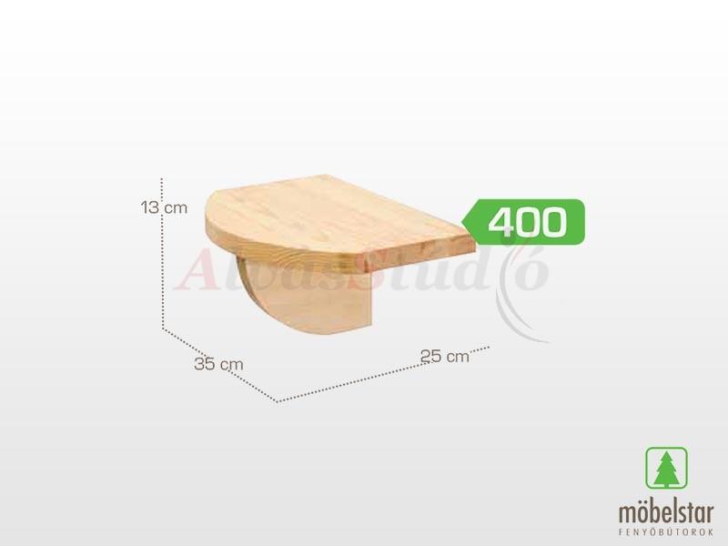 Möbelstar 400 - könyvtartó konzol 13x35 cm