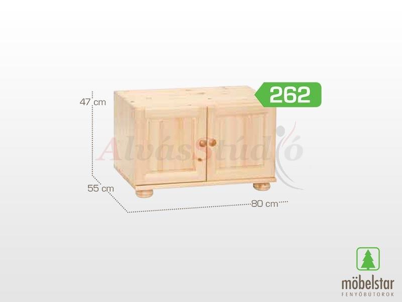Möbelstar 262 - 2 ajtós szekrény magasító 41x55 cm