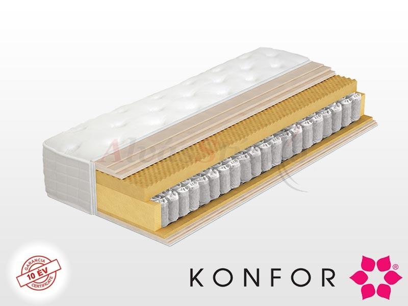 Konfor Passion luxus zsákrugós és memory matrac 180x200 cm