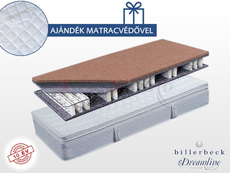 Billerbeck Karlsbad bonellrugós matrac 160x200 cm kókusz-latex topperrel