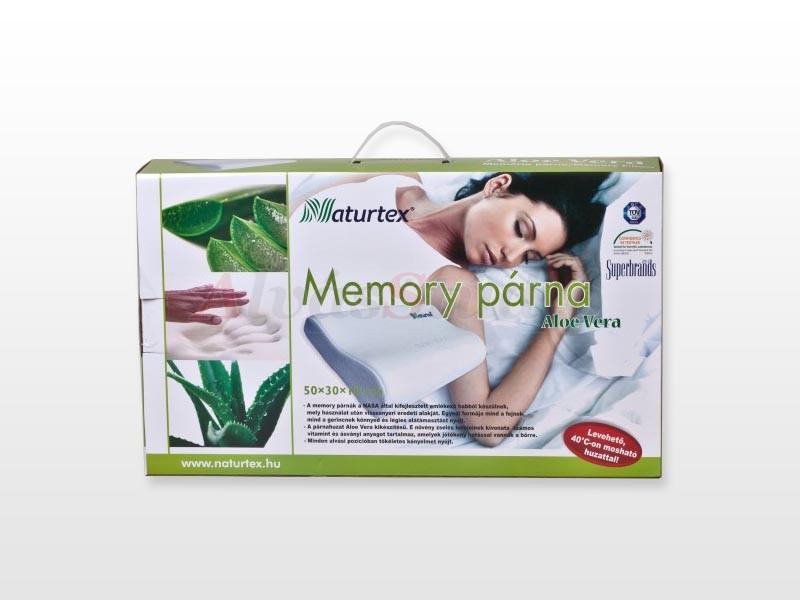 Naturtex Aloe Vera memory párna 50x30 cm