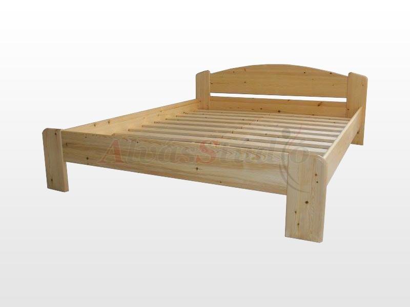 Kofa Róma fenyő ágykeret 160x200 cm