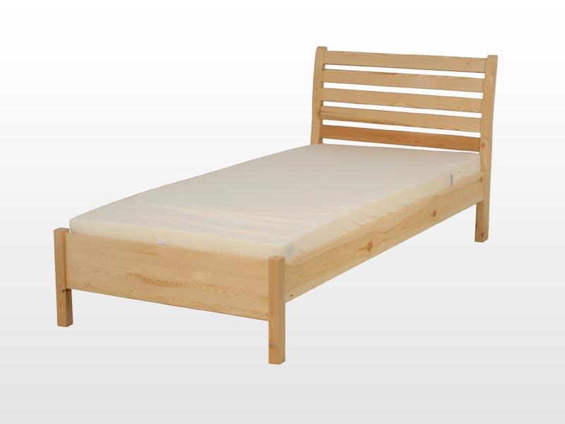 Kofa Léda fenyő ágykeret 90x200 cm