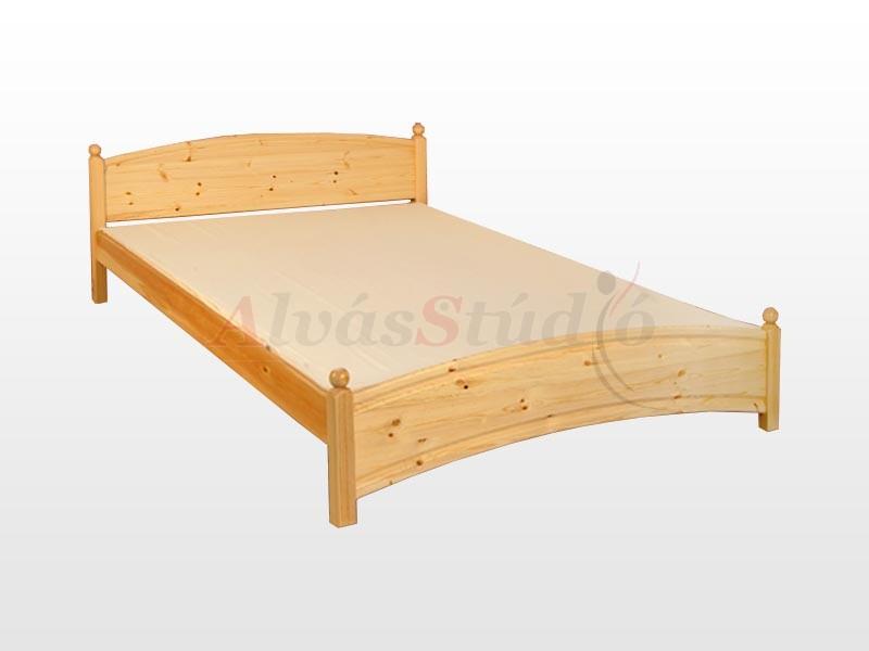 Kofa Gombos fenyő ágykeret 140x200 cm