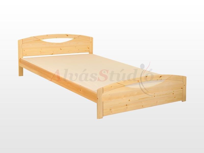 Kofa Théba fenyő ágykeret 90x200 cm