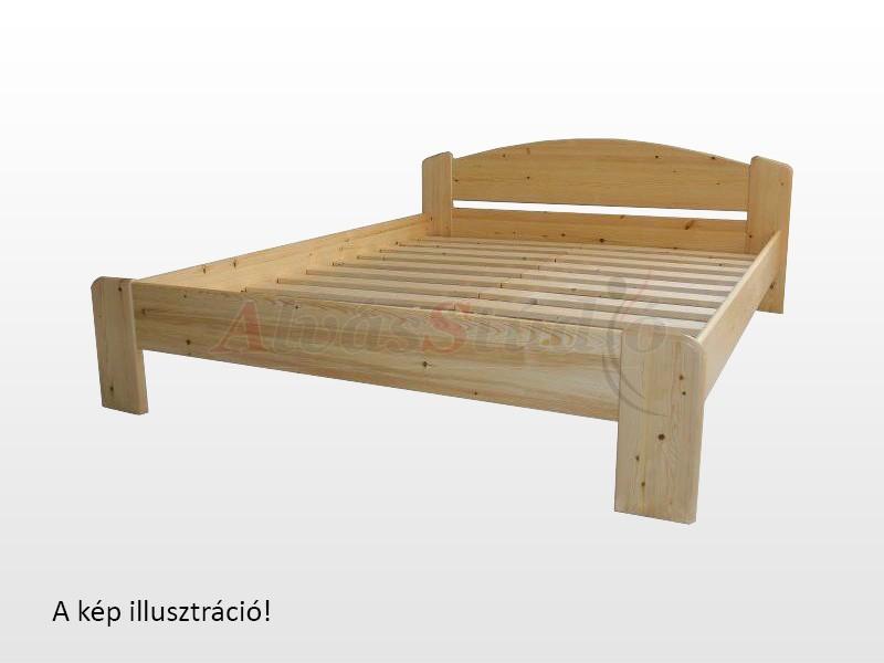 Kofa Róma bükk ágykeret 160x200 cm