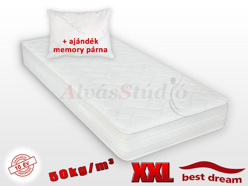 Best Dream Siglo 50 hideghab matrac 200x200 cm AJÁNDÉK MEMORY PÁRNÁVAL