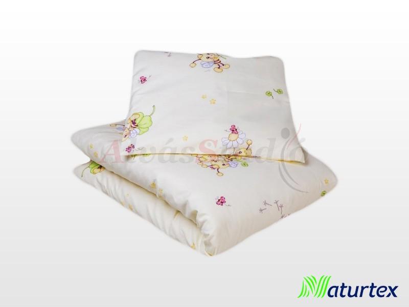 Naturtex 2 részes Happy Bees gyermek ágyneműhuzat 90x130 cm - 40x50 cm