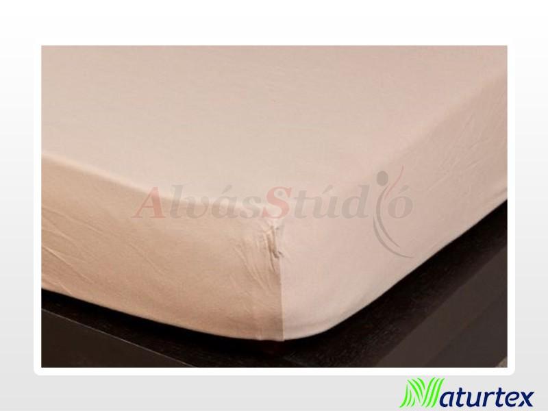 Naturtex Jersey gumis lepedő Homokbarna 140-160x200 cm