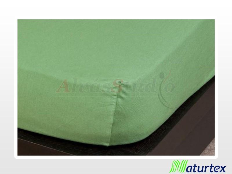 Naturtex Jersey gumis lepedő Olajzöld 90-100x200 cm