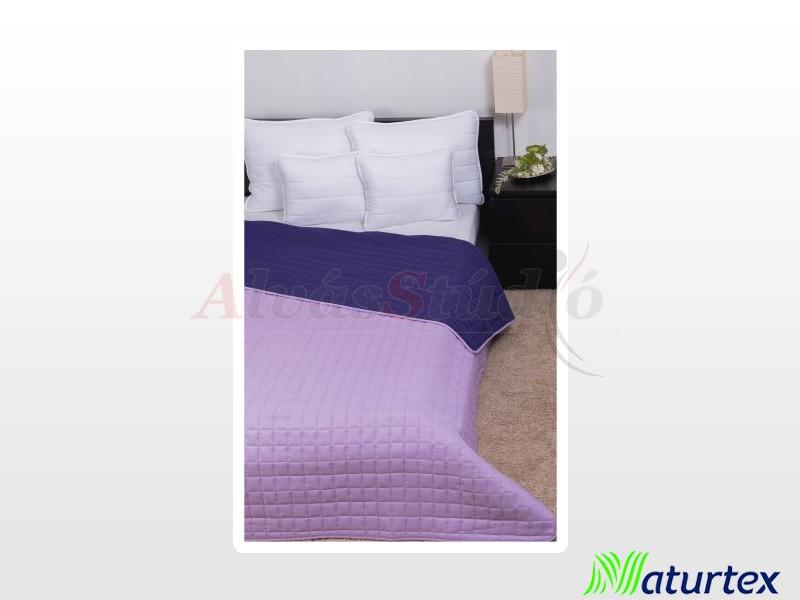 Naturtex Laura microfiber ágytakaró világoslila-sötétlila 235x250 cm