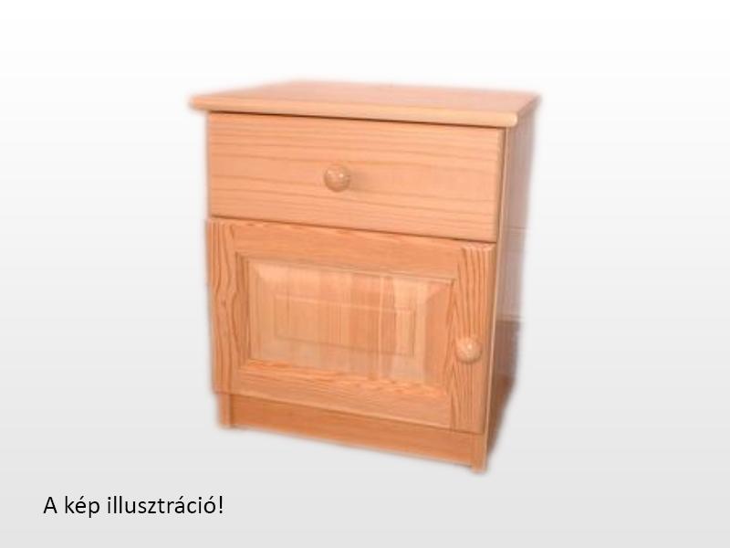 Kofa 1 fiókos 1 ajtós bükk éjjeliszekrény 40x46 cm