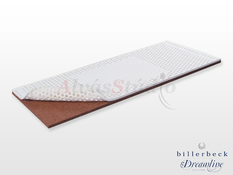 Billerbeck Karlsbad bonellrugós matrac 110x190 cm kókusz-latex topperrel