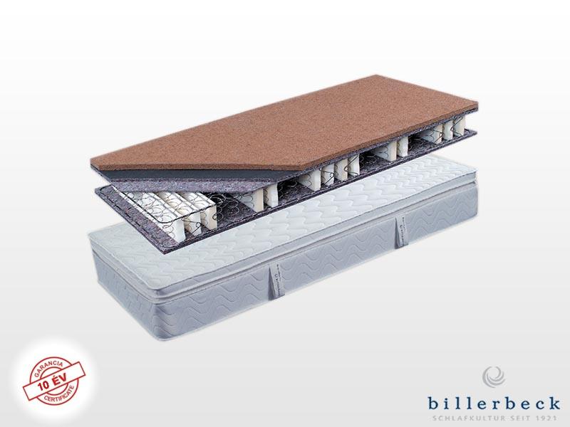 Billerbeck Karlsbad bonellrugós matrac 200x200 cm (2db 100x200 cm összezippzárolva) kókusz-latex topperrel