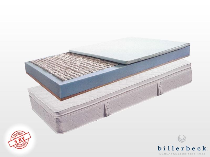 Billerbeck Monaco zsákrugós matrac 190x200 cm kókusz-latex topperrel