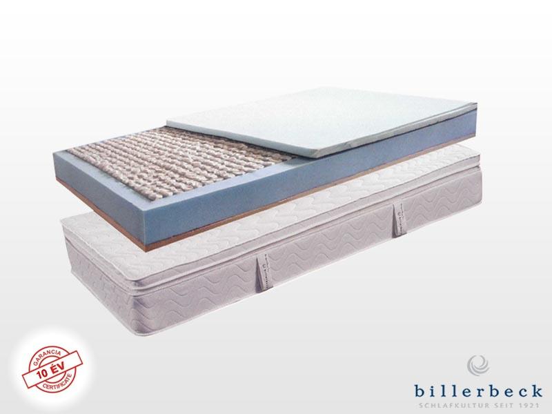 Billerbeck Monaco zsákrugós matrac 200x200 cm (2db 100x200 cm összezippzárolva) viszkoelasztikus - PU hab topperrel