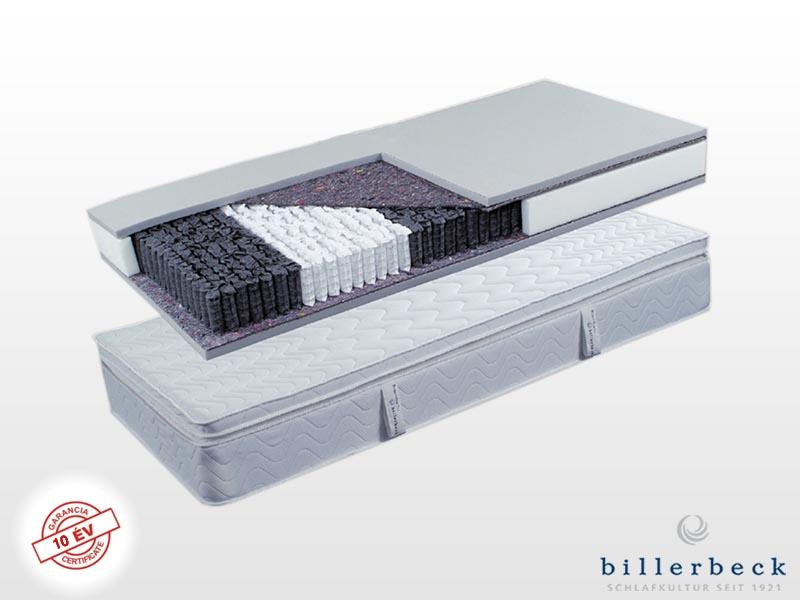 Billerbeck Portofino zsákrugós matrac 200x200 cm (2db 100x200 cm összezippzárolva) kókusz-latex topperrel