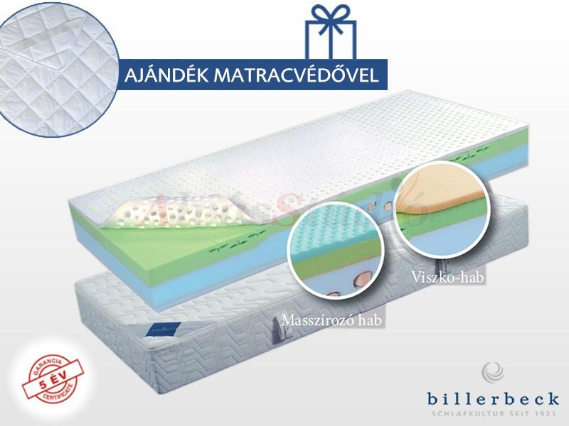 Billerbeck Davos hideghab matrac  80x200 cm viszkoelasztikus hab párnázó réteggel