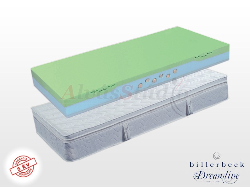 Billerbeck Nizza hideghab matrac 120x190 cm viszkoelasztikus - PU hab topperrel
