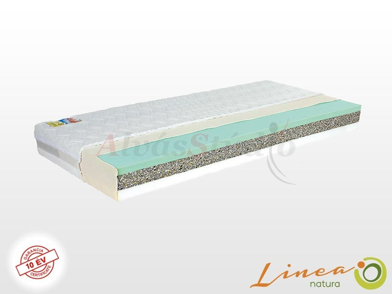 Lineanatura Orient Ortopéd hideghab matrac 190x220 cm ALOE-3D-4Z huzattal