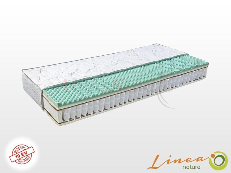Lineanatura Calypso matrac 100x210 cm Zippzárolható (PillowTop) huzattal
