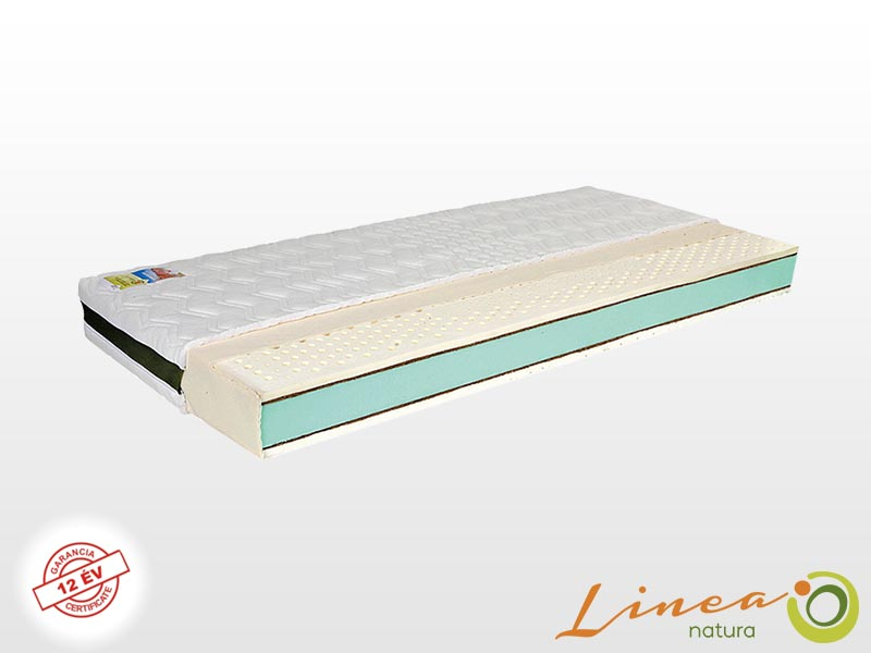Lineanatura Infinity latex-kókusz-hideghab bio matrac 80x220 cm EVO-2Z huzattal
