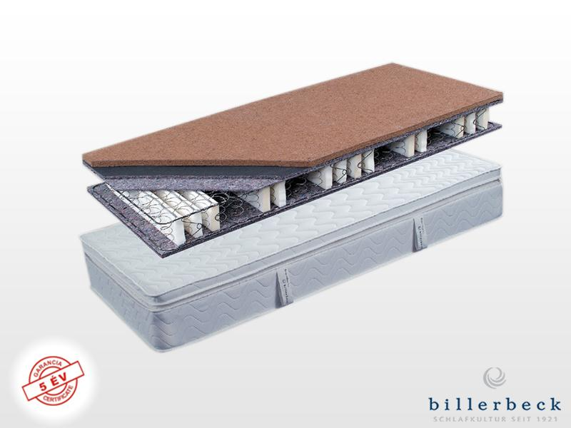Billerbeck Karlsbad bonellrugós matrac 190x210 cm viszkoelasztikus - PU hab topperrel