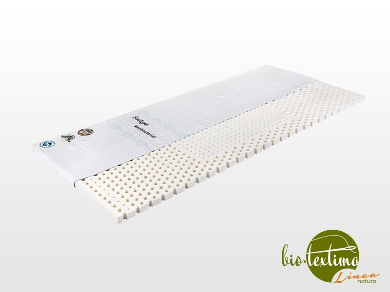 Bio-Textima Lineanatura Latex fedőmatrac 160x200x3 cm Sanitized huzattal