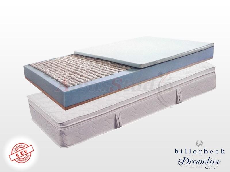 Billerbeck Monaco zsákrugós matrac 190x210 cm kókusz-latex topperrel
