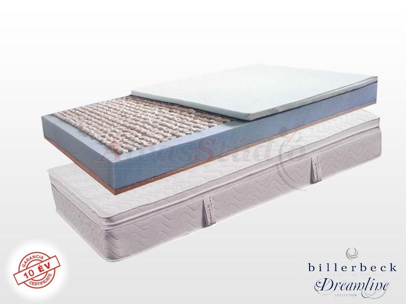 Billerbeck Monaco zsákrugós matrac 150x220 cm viszkoelasztikus - PU hab topperrel