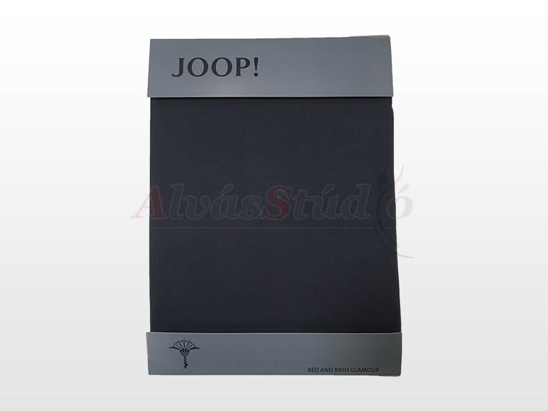 JOOP! Mako Jersey Sötétkék  90-100x200 lepedő