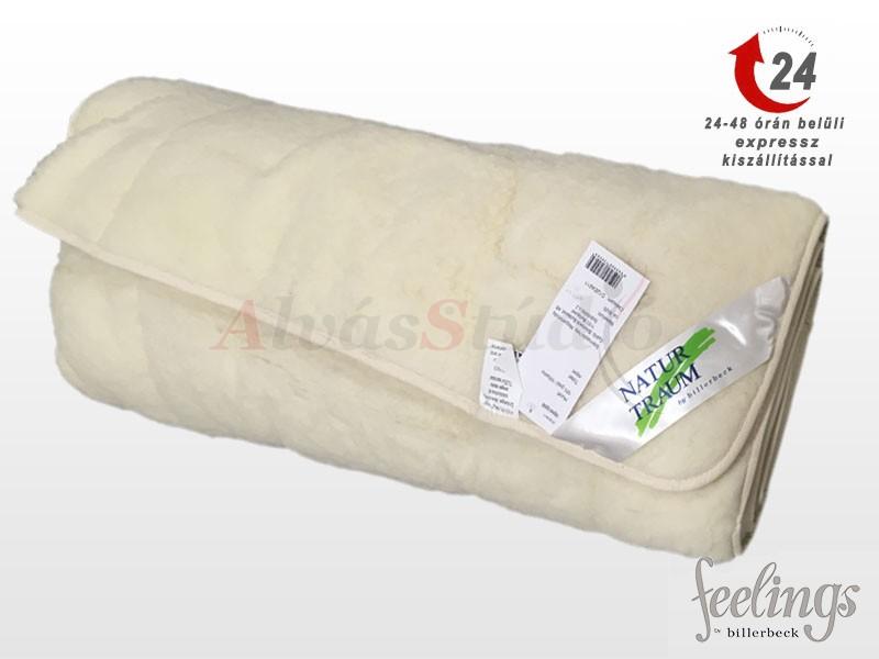 NATUR TRAUM mágneses szőrme-gyapjú matracvédő (derékalj) 90x200 cm