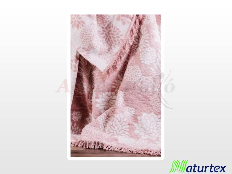 Naturtex Pamut-akril Lolly mintás pléd 150x200 cm