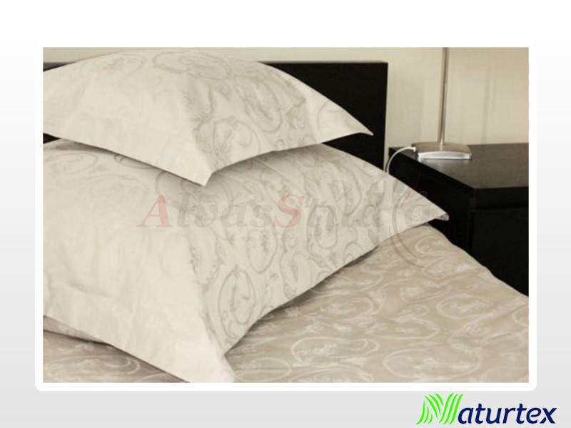 Naturtex 3 részes angol szélű jacquard ágynemű fehér 140x220 cm - 70x90 cm - 40x50 cm