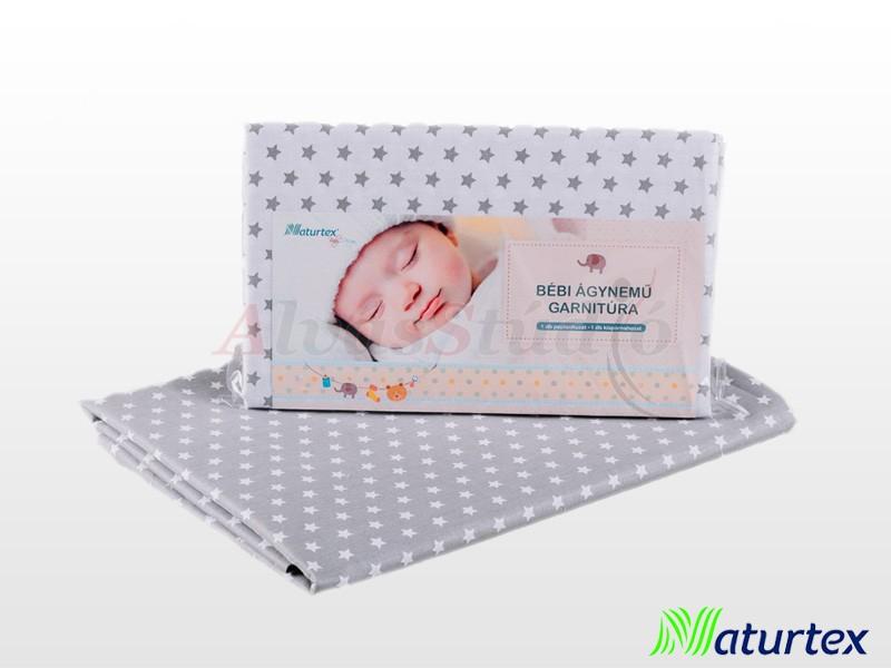 Naturtex 2 részes Baby Star gyermek ágyneműhuzat 70x90 cm - 40x50 cm