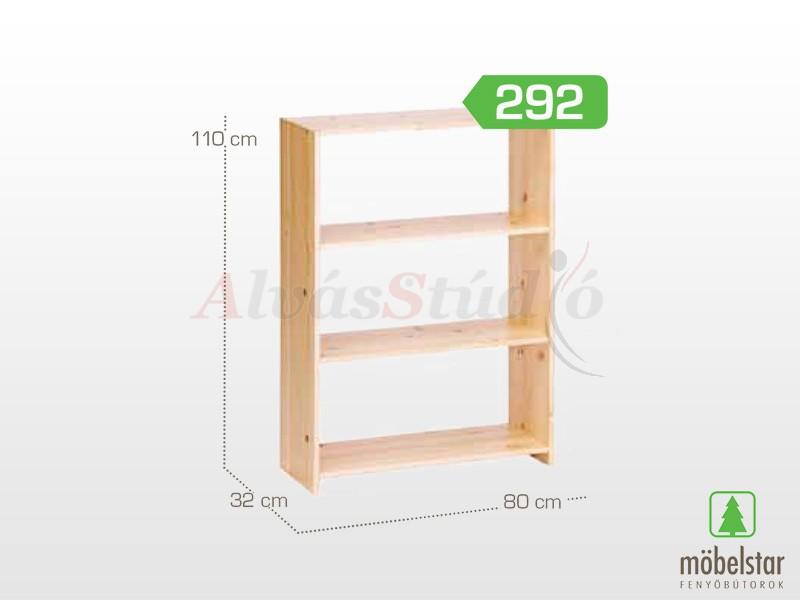 Möbelstar 292 - Polcos elem 110x32x80 cm
