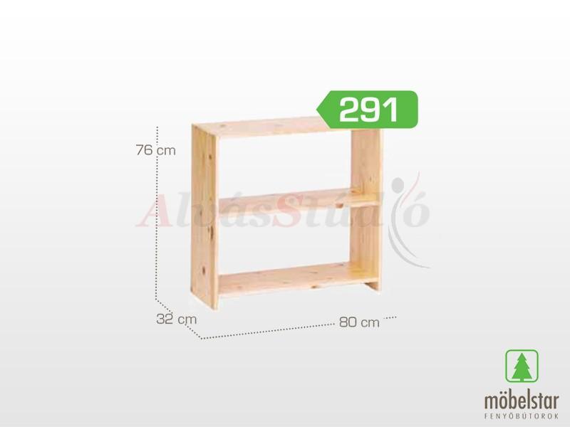 Möbelstar 291 - Polcos elem 76x32x80 cm
