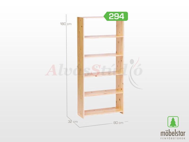 Möbelstar 294 - Polcos elem 180x32x80 cm