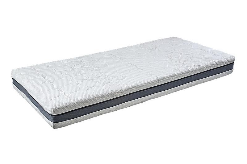 Lineanatura Fitness Natural latex-kókusz bio matrac 100x200 cm SILVER-3D-4Z huzattal