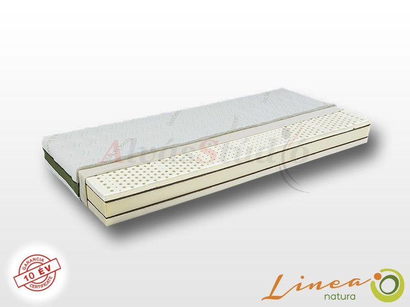 Lineanatura Fitness Natural latex-kókusz bio matrac 90x210 cm ALOE-3D-4Z huzattal