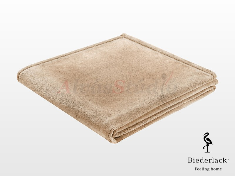 Biederlack Soft & Cover Beige pléd 150x200 cm