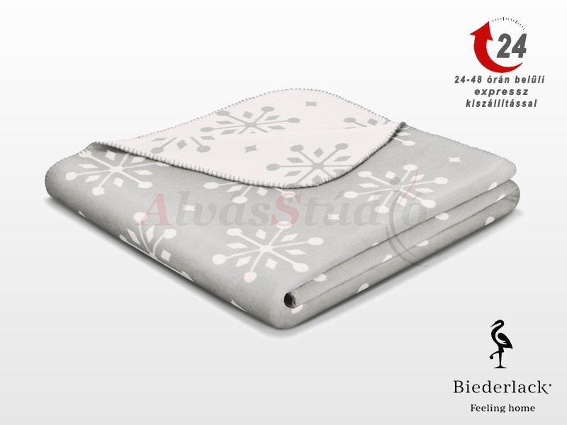 Biederlack Fashion & Comfort Sense of Snow pléd 150x200 cm