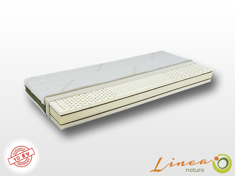 Lineanatura Fitness Natural latex-kókusz bio matrac 200x210 cm EVO-2Z huzattal