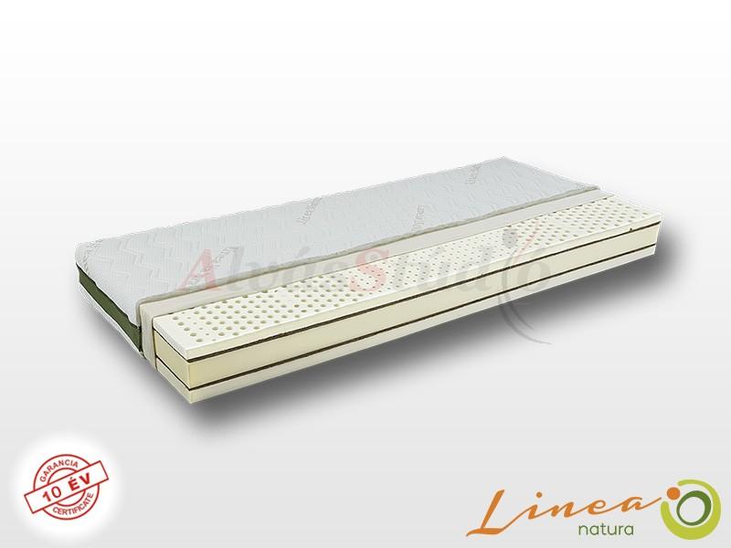 Lineanatura Fitness Natural latex-kókusz bio matrac 80x220 cm SILVER-3D-4Z huzattal