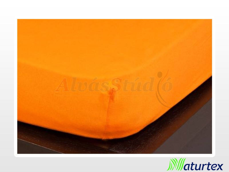Naturtex Jersey gumis lepedő Narancs 70x140 cm