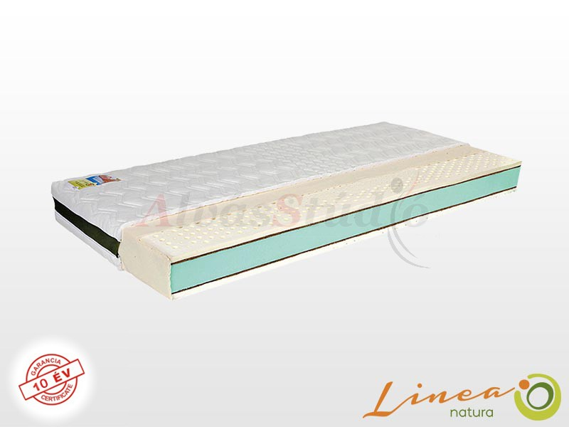 Lineanatura Infinity latex-kókusz-hideghab bio matrac 80x190 cm EVO-3D-4Z huzattal